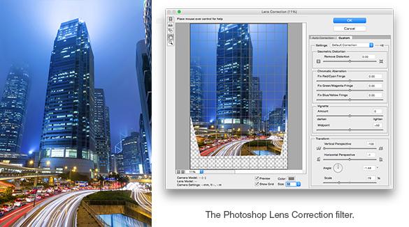 Lens Correction Filter